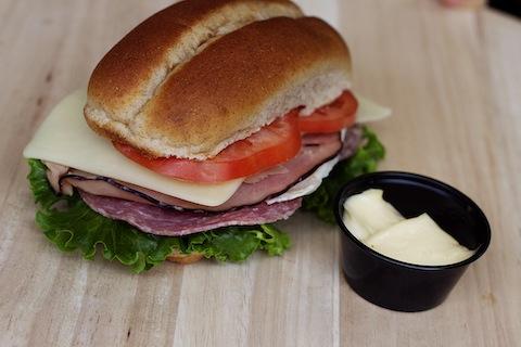 Three-meat-sub